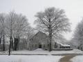 Pleisterplaats in de winter